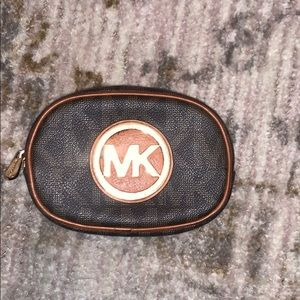 MK makeup bag